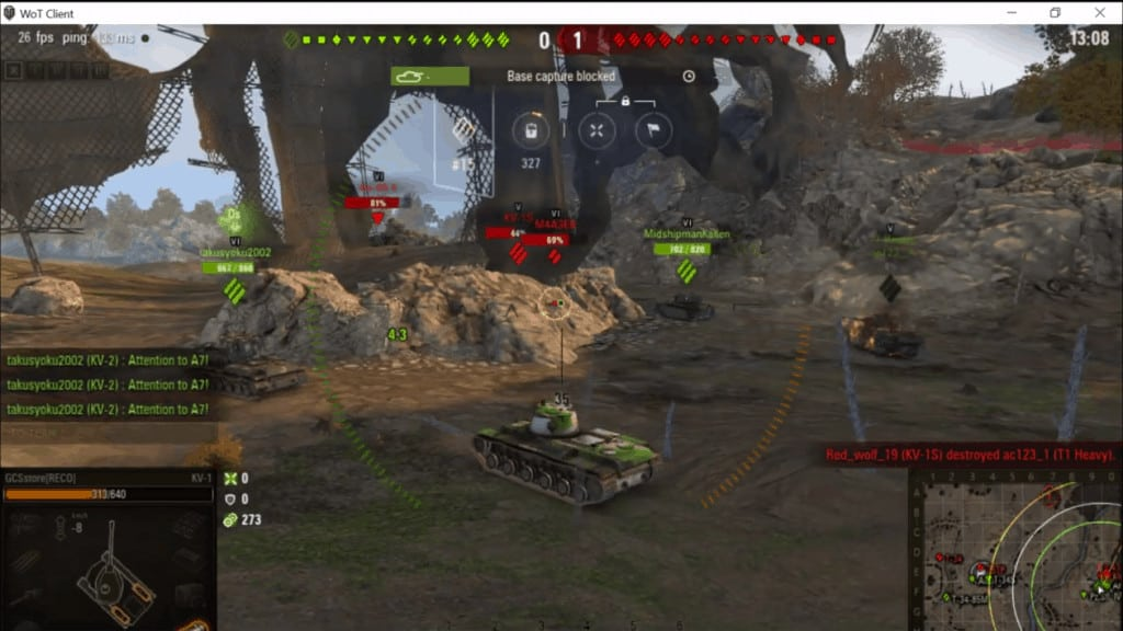 #57 WOT Russia KV-1 Heavy Tank - Daily Game Moments