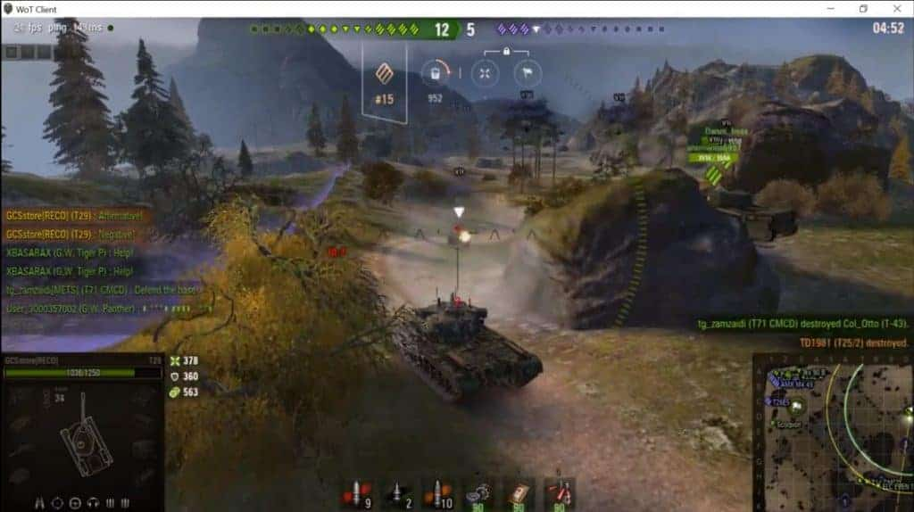 #59 T29 American Tank In Action - Daily Game Moments. Everyday Game Moments