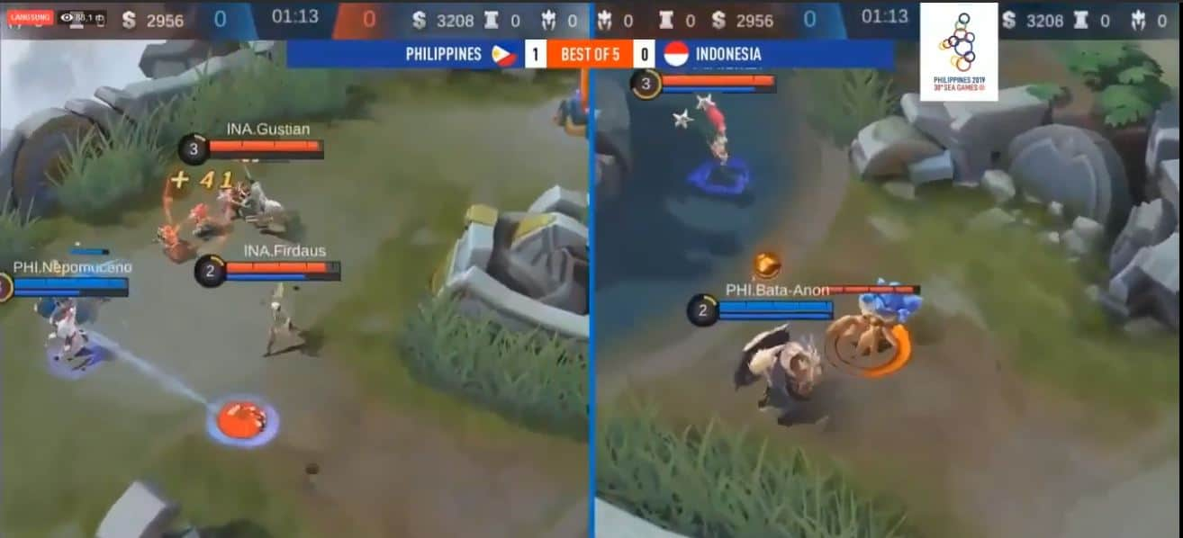 #25 Mobile Legends - Daily Game Moments. PH vs ID Gold Medal Sea Games