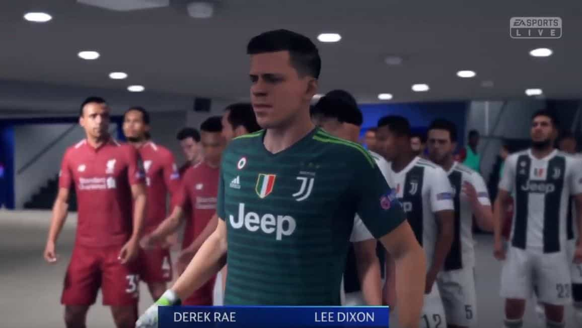 #6 Fifa 19 Playstation 4 Liverpool Vs Juventus UEFA Champions League Final - Daily Game Moment